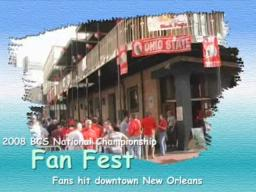2008 BCS National Championship Fan Fest in New Orleans