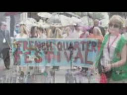 French Quarter Fest Second Line