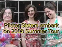 Pfister Sisters embark on 2008 European tour