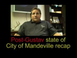 Mayor Eddie Price update on post-Gustav recovery in Mandeville