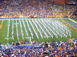 Florida vs. LSU - The University of Florida marching band