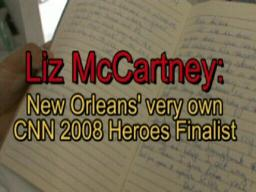 Liz McCartney: CNN 2008 Hero of the Year finalist helps St. Ber