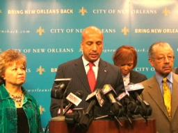 Mayor Nagin discusses 2009 budget