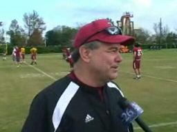 New Orleans Bowl: Troy practice pt. 1