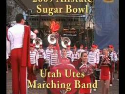 Utah Utes band at the 2009 Allstate Sugar Bowl Fan Jam