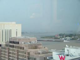 Mid-morning storm rolls through New Orleans