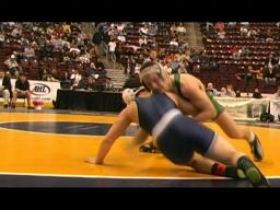 Marshall Peppelman dominates in first round of PIAA tourney