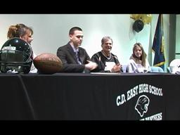 CD East's Cody Webster signs letter of intent