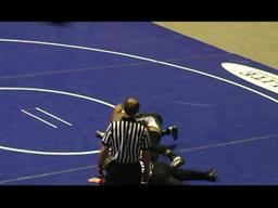 Central Dauphin's Kenny Courts scores quick pin