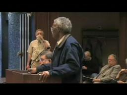 Melvin McCree addresses County Board of Commissioners