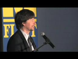 Filmmaker Ken Burns speaks to Flint Crowd