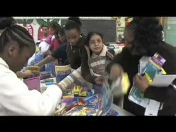 Easter gift spurs students to put their hearts into baskets