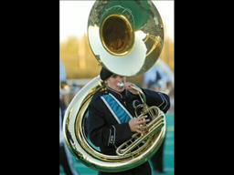 Century High School tuba player