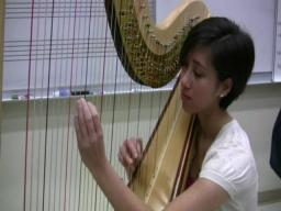 Harpist Liska Yamada