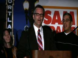 Sam Adams victory speech