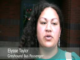 Greyhound rider: People screamed 'stop the bus!'
