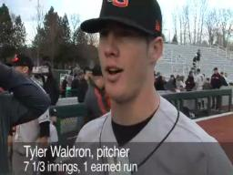 Beavers win first in the Civil War baseball series