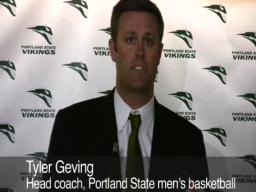 Portland State introduces Geving