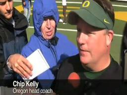 Chip Kelly on Oregon Head Coach Chip Kelly