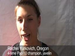 Yurkovich wins her fourth Pac-10 javelin title