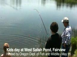 Kids Day at West Salish Pond, Fairview