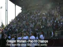 Oregon Women: Pac-10 Champs