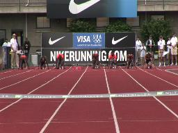 Prefontaine Classic: Men's 100 meters