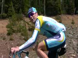 Chris Horner prepares for the Tour de France