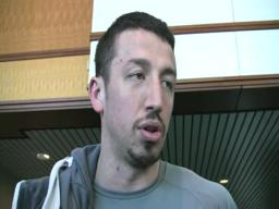 Hedo Turkoglu arrives for Portland visit