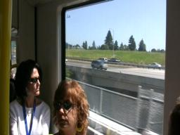 First ride on the MAX Green Line