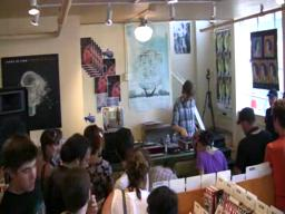 Thurston Moore in-store DJ set at Jackpot Records