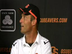 Beavers postgame: Players and coach Mike Riley talk about the w