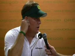 Oregon Ducks postgame
