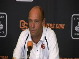 Oregon State coach Mike Riley on Cincinnati