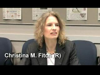 Christensen (D) vs. Fitch (R)