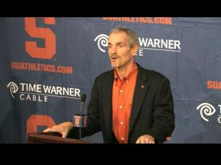 Rob Spence Named SU Football Offensive Coordinator, Part 1
