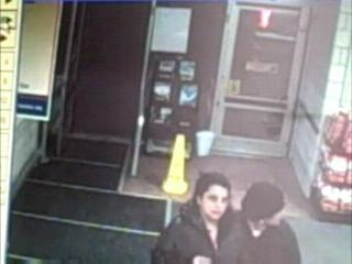 Camera Shows Credit Card Thieves