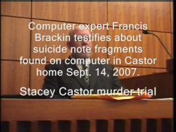 Expert testifies about suicide note drafts found on computer in