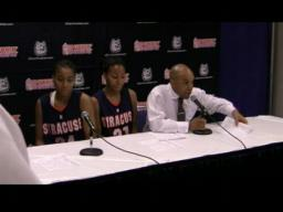 Coach Quentin Hillsman press conference
