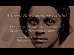 A Local Black History Exhibit
