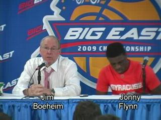 Big East Tournament, Day 5: SU's Post-Game News Conference