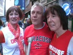 Big East Tournament, Day 4:  Syracuse Fans on Last Night's Game