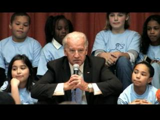Vice President Biden Visits Bellevue Elementary School