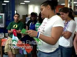 Nottingham and FM Students Share Experiences for Quilt
