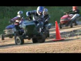 Lawn Mower Racing In West Amboy