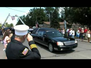 Motorcade Brings Home Fallen Oneida Marine 