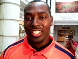 Orange All-Big East Conference Defensive Tackle Arthur Jones