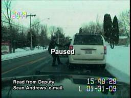 Dep. Sean Andrews on why he Tasered a mom during a traffic stop
