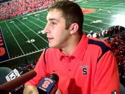SU Quarterback Greg Paulus Talks Minnesota and Penn State