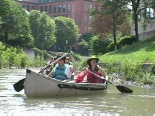 Ways to revitalize Onondaga Creek during a canoe trip with Don Hughes